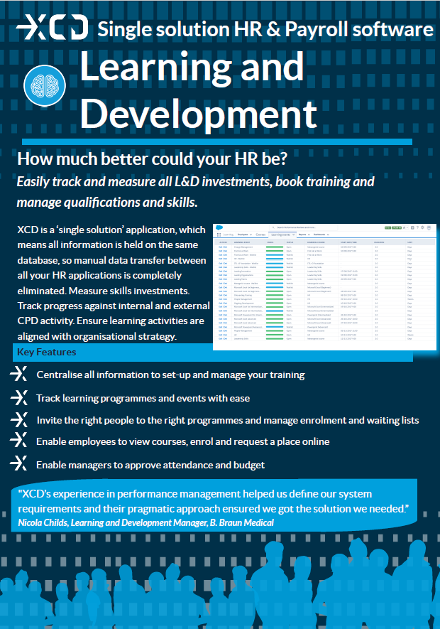XCD Learning and Development