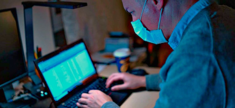 Remote Working Spikes As Coronavirus Fears Grow